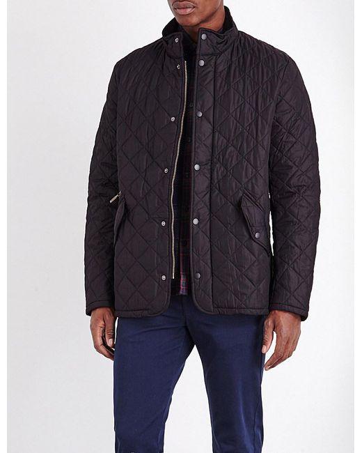 Barbour | Black Chelsea Quilted Jacket for Men | Lyst