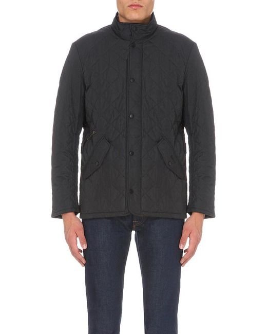 Barbour | Blue Chelsea Quilted Jacket for Men | Lyst