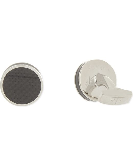Tateossian | Metallic Round Cufflinks for Men | Lyst