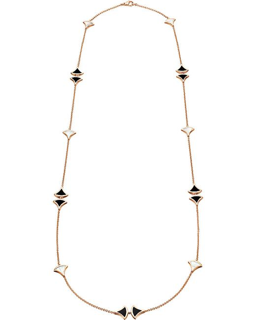 BVLGARI | Metallic Divas' Dream Sautoir 18kt Pink-gold Necklace | Lyst