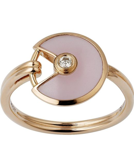 Cartier | Amulette De 18ct Pink-gold | Lyst