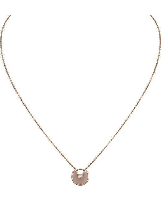 Cartier | Amulette De 18ct Pink Gold | Lyst