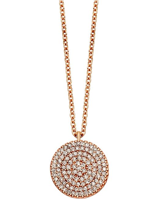 Astley Clarke   Pink Icon 18ct Gold Vermeil Pendant Necklace   Lyst