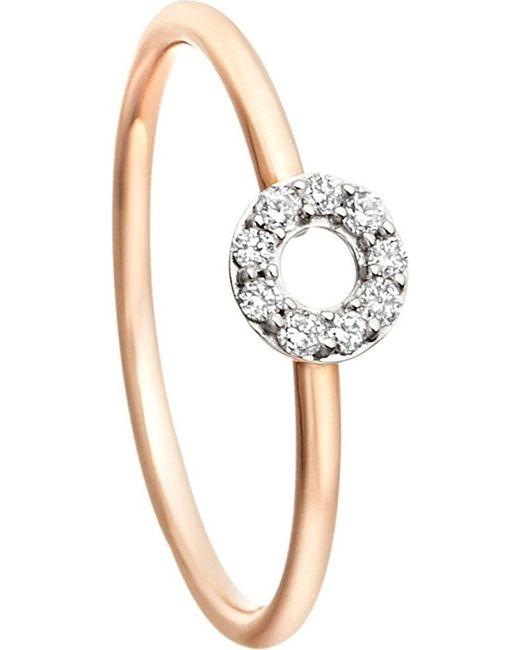 Astley Clarke | Pink Diamond Polo Ring | Lyst