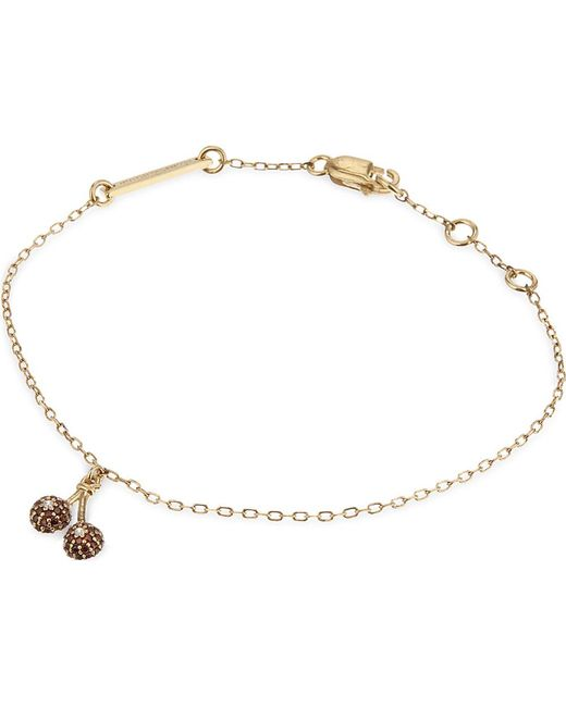 Marc Jacobs | Metallic Cherries Friendship Bracelet | Lyst