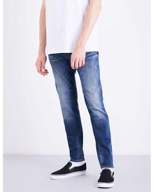 True Religion | Blue Jack Slim-fit Tapered Jeans for Men | Lyst