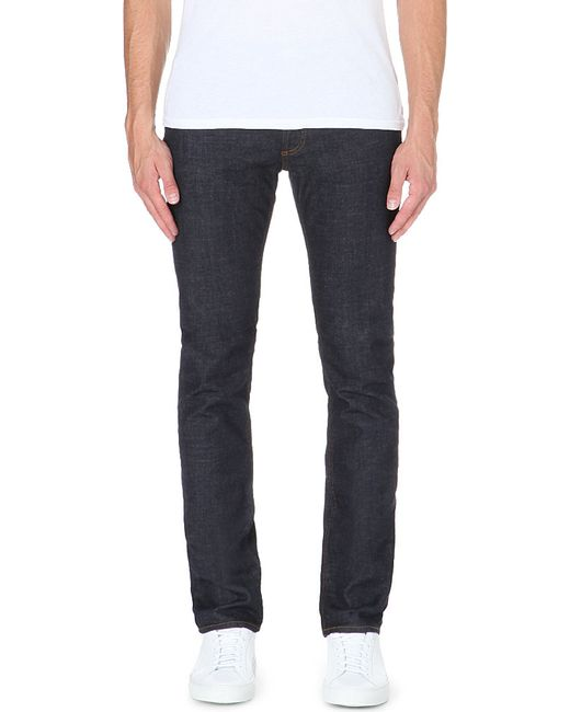 Sandro | Blue Tapered Slim Mid-rise Jeans for Men | Lyst