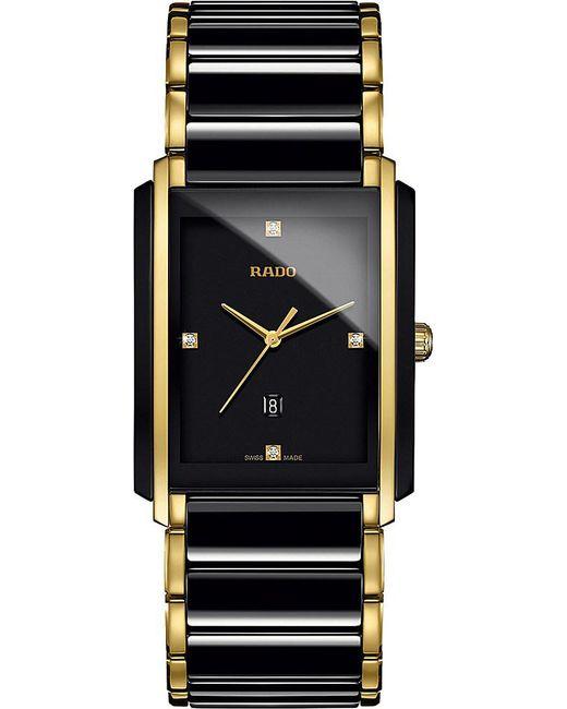 Rado | Blue R20204712 Integral High-tech Ceramic And Diamond Watch for Men | Lyst