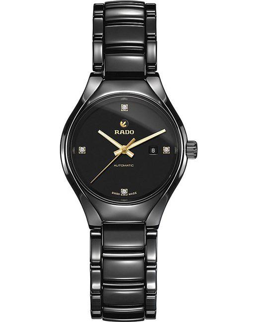 Rado | Multicolor R27242712 True Ceramic And Diamond Watch | Lyst