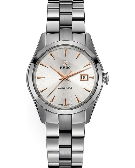 Rado | Metallic R32091113 Hyperchromestainless Steel And Ceramic Watch for Men | Lyst
