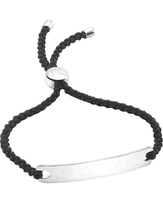 Monica Vinader | Metallic Havana Sterling Silver Friendship Bracelet | Lyst
