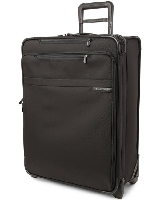 Briggs & Riley | Black Baseline Medium Expandable Upright Suitcase 61cm | Lyst