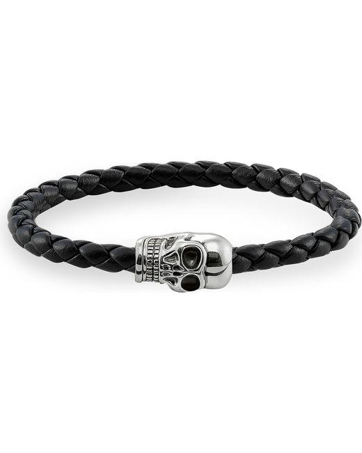 Thomas Sabo   Metallic Silver Skull Unity Bracelet   Lyst