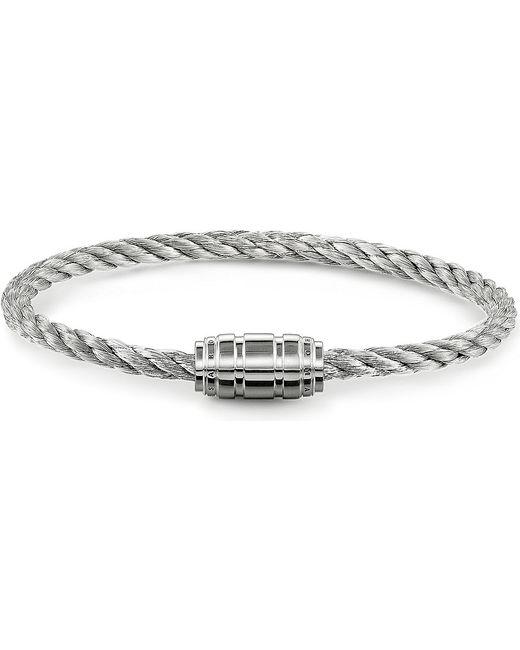 Thomas Sabo | Metallic Unity Silver Branded Clasp Bracelet | Lyst