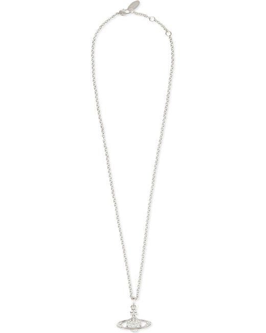 Vivienne Westwood - Metallic Bas Relief Orb Pendant Necklace - Lyst