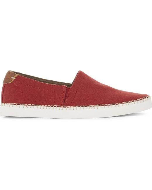 ALDO - Red Friard Leather Espadrilles - Lyst