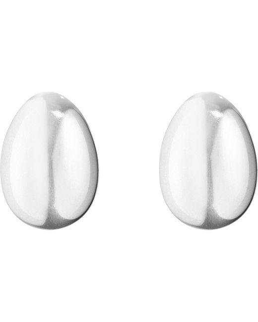 Georg Jensen | Metallic Astrid Sterling Silver Stud Earrings | Lyst