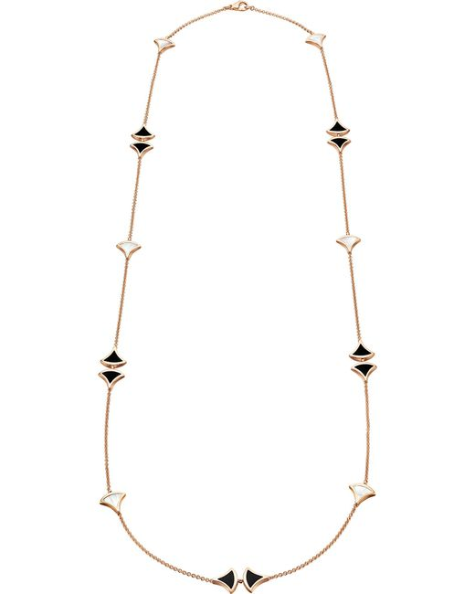 BVLGARI - Metallic Divas' Dream Sautoir 18kt Pink-gold Necklace - Lyst
