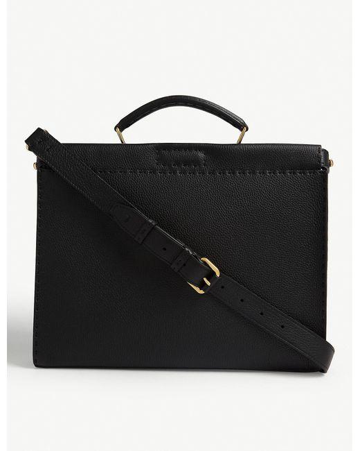 Fendi Black Peekaboo Leather Bag for men