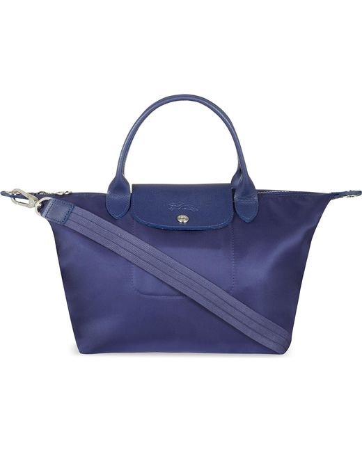Longchamp - Blue Le Pliage Neo Small Handbag - Lyst