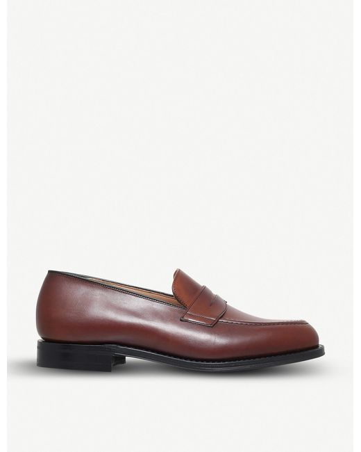 f5958f125442 Lyst - Church s Netton Leather Penny Loafer in Brown for Men