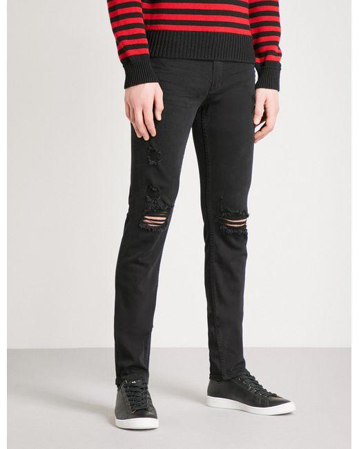 PAIGE - Black Croft Sim-fit Skinny Jeans for Men - Lyst