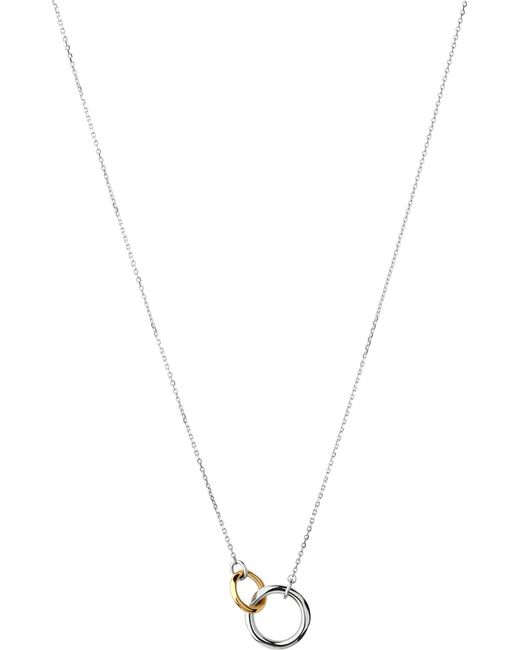Links of London | Metallic 20/20 Bi-metal Pendant Necklace | Lyst
