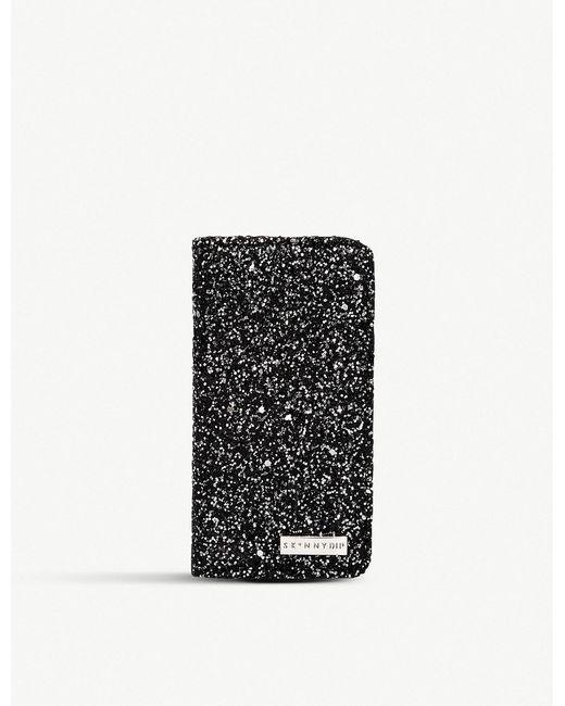 Skinnydip London - Black Midnight Glitter Folding Iphone 6/6s/7/8 Case - Lyst