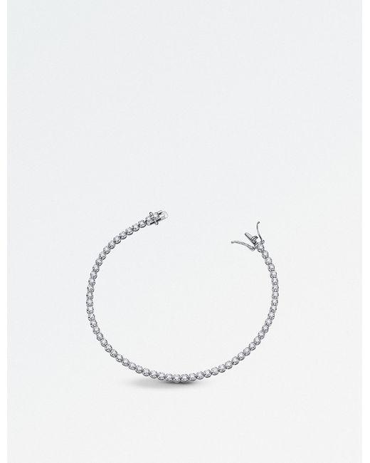 BUCHERER JEWELLERY - Classics 18ct White-gold And Diamond Bracelet - Lyst