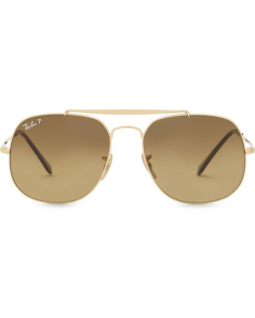 Ray-Ban - Metallic Rb3561 General Square-frame Sunglasses for Men - Lyst