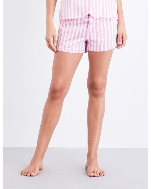 Bodas | Pink St Moritz Cotton Pyjama Shorts | Lyst