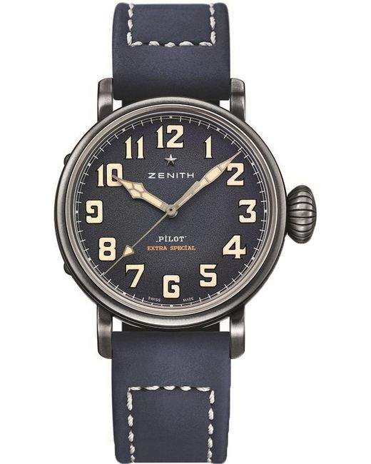 Zenith - Blue 11.1940.679/53.c808 Type 20 Stainless Steel Automatic Pilot Watch for Men - Lyst