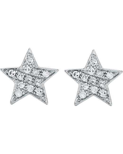 The Alkemistry - Metallic Julianna Himiko 14ct White-gold And Diamond Earrings - Lyst