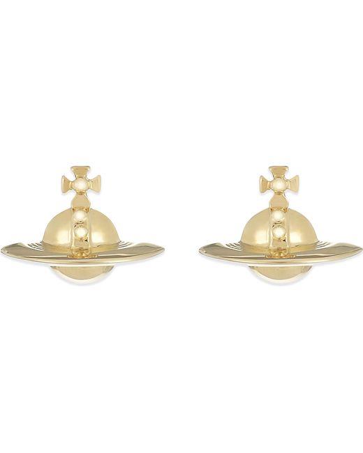 Vivienne Westwood | Metallic Solid Orb Stud Earrings | Lyst