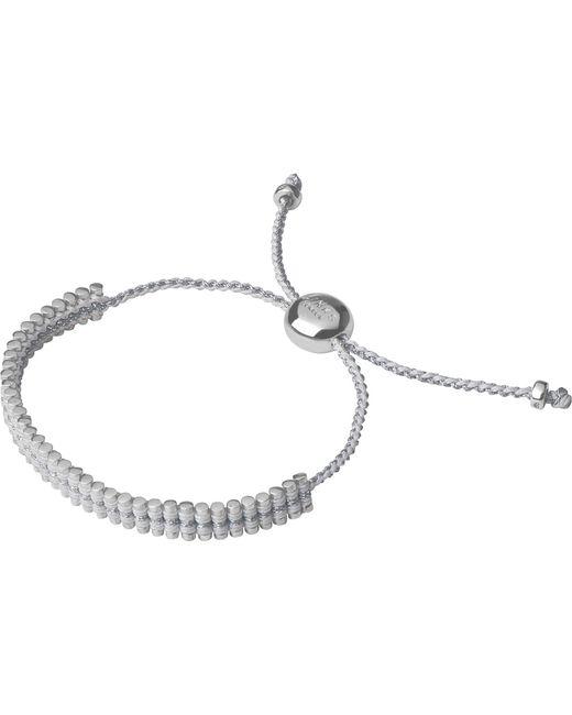 Links of London   White Mini Friendship Bracelet   Lyst