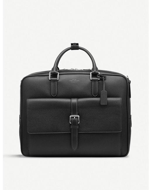 Smythson - Black Burlington Large Briefcase for Men - Lyst