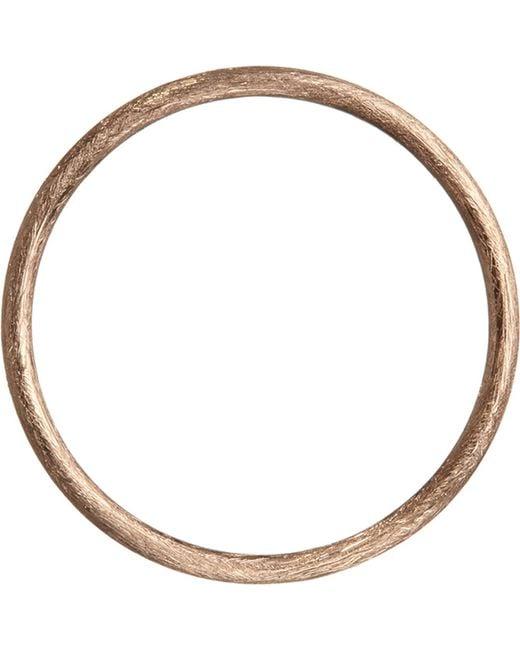 Annoushka - Metallic 18ct Rose Gold Hoopla Hoop - Lyst