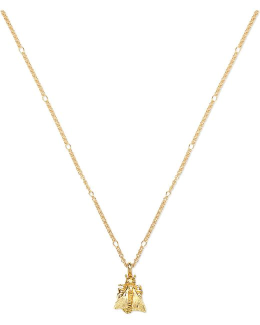 Gucci - Metallic Le Marché Des Merveille 18ct Gold Necklace - Lyst