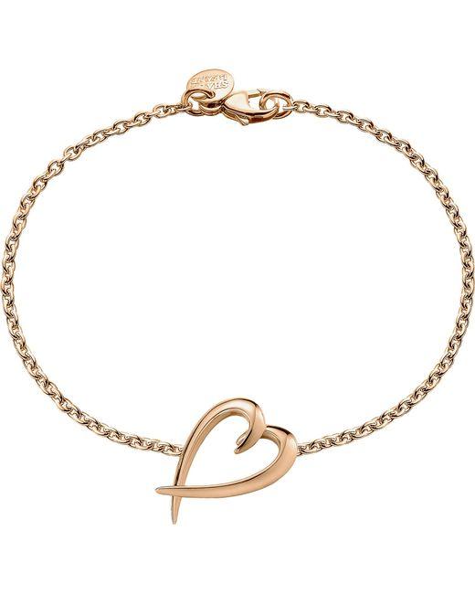 Shaun Leane - Metallic Signature Rose-gold Vermeil Heart Bracelet - Lyst