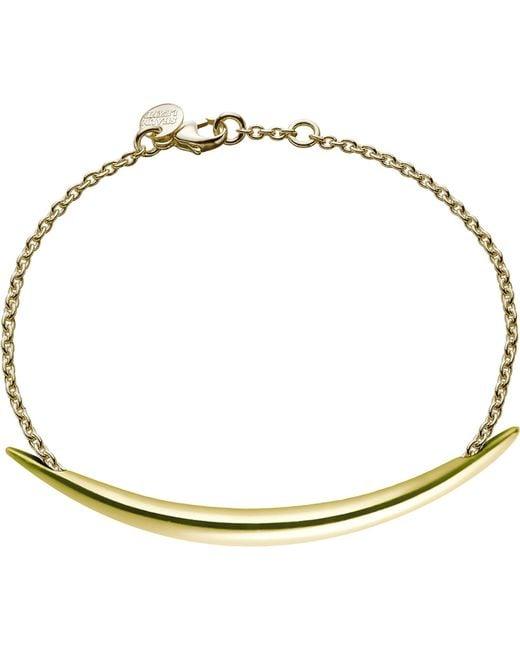Shaun Leane | Metallic Quill Gold Plate Chain Bracelet | Lyst