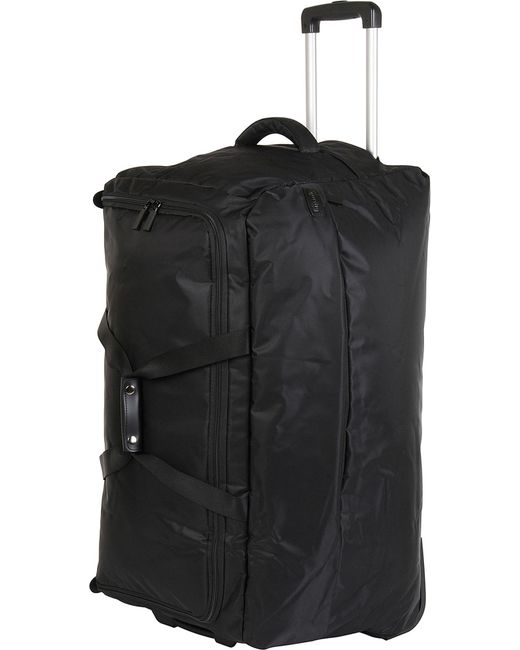 Lipault - Black Foldable Wheeled Duffel Bag 78cm for Men - Lyst