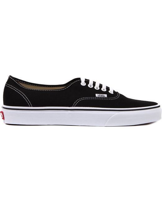 54ab9b523a6f Vans Authentic Low-top Trainers in Black for Men - Save 19% - Lyst