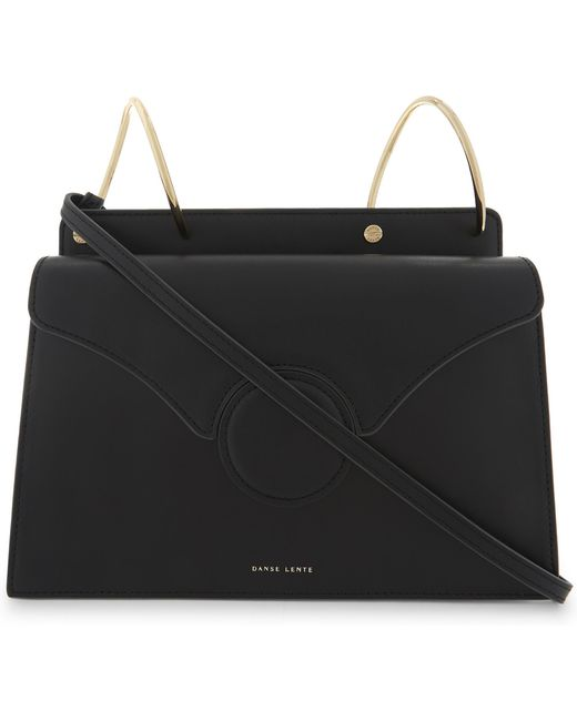 Danse Lente - Ladies Black Phoebe Leather Shoulder Bag - Lyst
