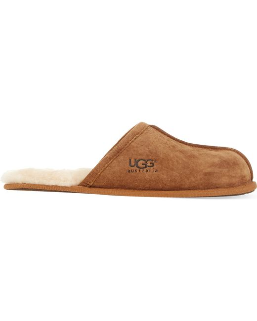 64a4cd73a5c Lyst - UGG Scuff Sheepskin Slippers in Natural for Men - Save 19%