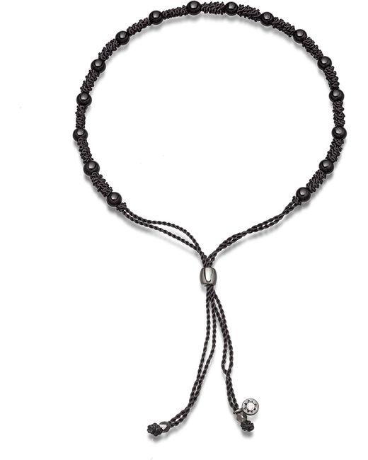 Astley Clarke | Biography Black Onyx 18ct Gold-plated Beaded Bracelet | Lyst