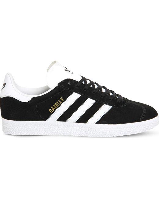 Adidas Originals - Black Gazelle Sport Pack Leather Sneakers for Men - Lyst