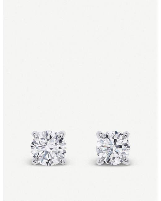 BUCHERER JEWELLERY Metallic Joy 18ct White-gold Diamond Earrings