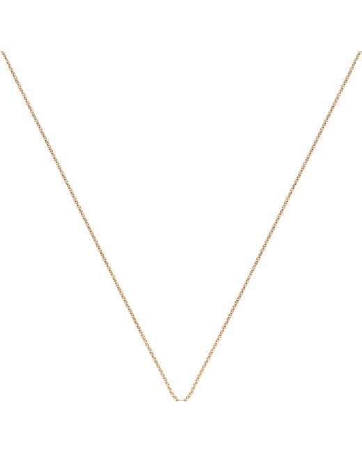Monica Vinader | Metallic 18ct Yellow Gold-plated Vermeil Fine Chain | Lyst