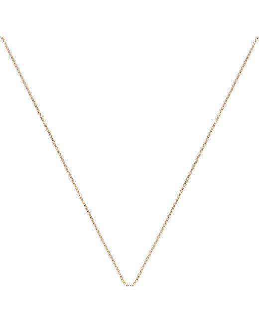 Monica Vinader - Metallic 18ct Yellow Gold-plated Vermeil Fine Chain - Lyst