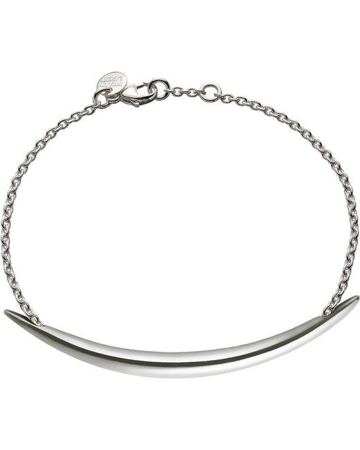 Shaun Leane - Metallic Quill Silver Chain Bracelet - Lyst